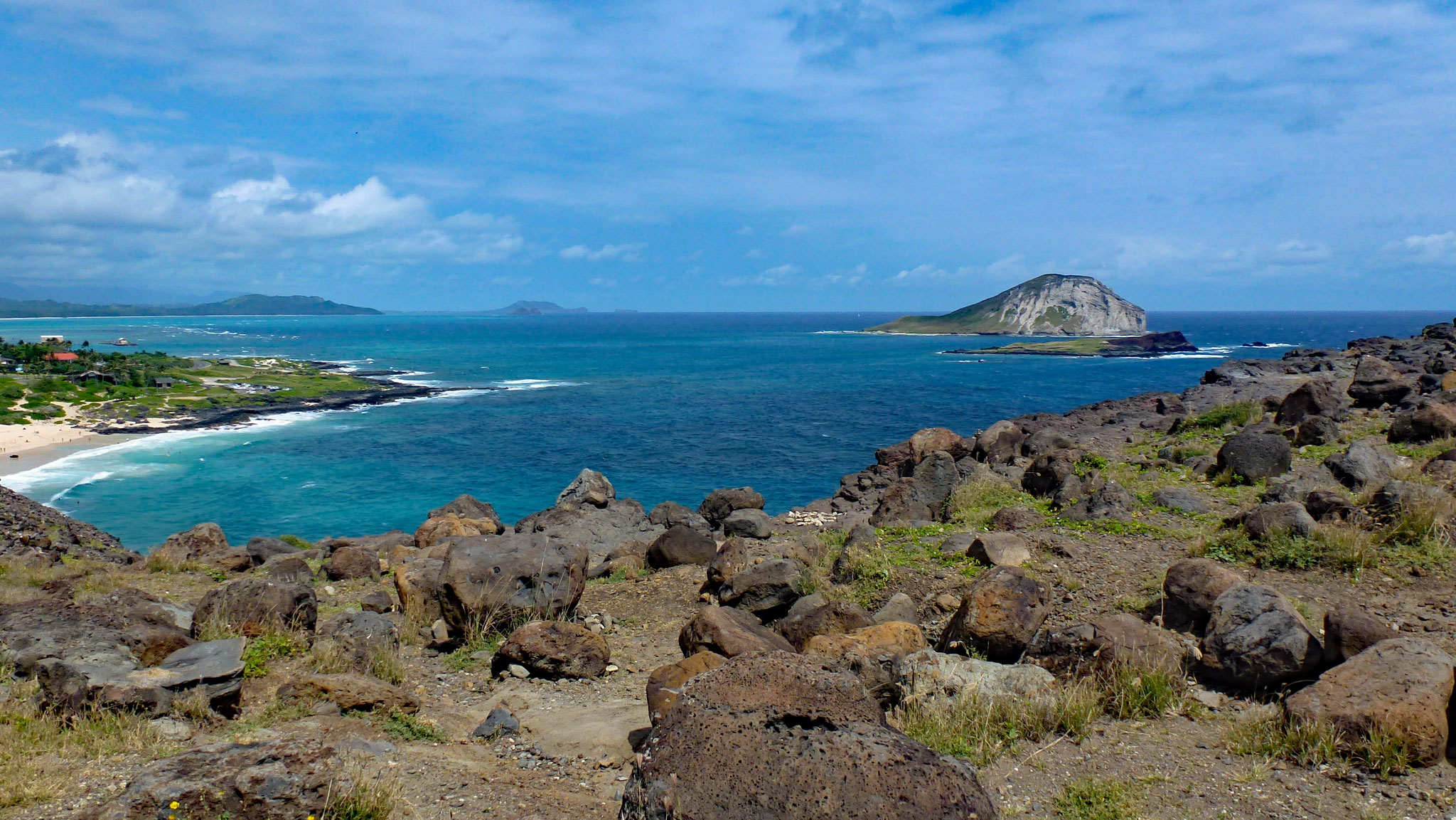 View from Makapuu Lighthouse Trail