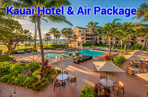 HawaiiVacation Slide 4 Panda Travel Promotion Images -  Courtyard Marriott Kauai 398x338